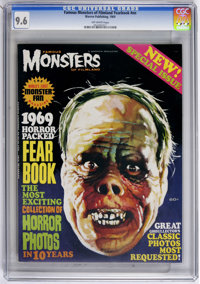 Famous Monsters of Filmland Yearbook #nn (Warren, 1969) CGC NM+ 9.6 Off-white pages