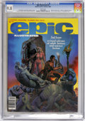 "Magazines:Science-Fiction, Epic Illustrated #2 (Marvel, 1980) CGC NM/MT 9.8 White pages.Richard Corben cover. Adaptation of Robert E. Howard's ""Almuri..."