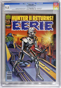Eerie #101 (Warren, 1979) CGC NM/MT 9.8 Off-white to white pages. Return of Hunter II. Art by Jim Starlin and Alfredo Al...