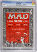 Magazines:Mad, Mad #29 White Mountain pedigree (EC, 1956) CGC VF+ 8.5 Off-white towhite pages. Al Feldstein's first issue as editor. Don M...