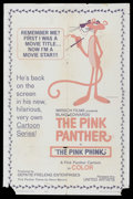 "Movie Posters:Animated, The Pink Phink (United Artists, 1964). One Sheet (27"" X 41""). Animated Short. Directed by Fritz Freleng and Hawley Pratt. Th..."