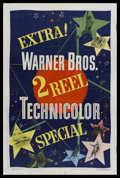 "Movie Posters:Short Subject, 2 Reel Technicolor Stock Poster (Warner Brothers, 1949). One Sheet(27"" X 41""). Short Subject. Warner Brothers looks at ever..."