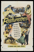 "Movie Posters:Short Subject, Warner Brothers Featurettes Stock (Warner Brothers, 1951). OneSheet (27"" X 41"") Style A. Short Subject. This stock poster c..."