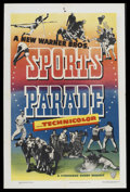 "Movie Posters:Sports, Sports Parade Stock Poster (Warner Brothers, 1940). One Sheet (27"" X 41""). Sports...."