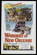 "Movie Posters:Short Subject, Wonders of New Orleans (Columbia, 1957). One Sheet (27"" X 41"").Documentary. A look at the sights and sounds of New Orleans,..."