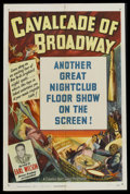 "Movie Posters:Short Subject, Cavalcade of Broadway Stock Poster (Columbia, 1949). One Sheet (27""X 41""). Short Subject. Stock poster designed for the ""Ca..."