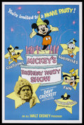 "Movie Posters:Adventure, Mickey's Birthday Party Show (Buena Vista, 1978). One Sheet (27"" X41""). Adventure. Starring Fess Parker, Buddy Ebsen, Basil..."