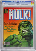 Magazines:Superhero, Hulk (Magazine) #17 Massachusetts pedigree (Marvel, 1979) CGC NM/MT9.8 White pages. Earl Norem cover. Gene Colan and Bob Wi...