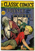 "Golden Age (1938-1955):Classics Illustrated, Classic Comics #29 The Prince and the Pauper - Davis Crippen (""D""Copy) pedigree (Gilberton, 1946) Condition: GD/VG...."