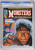 Magazines:Horror, Monsters of the Movies #4 (Marvel, 1974) CGC NM/MT 9.8 Off-white to white pages....