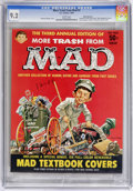 Magazines:Mad, More Trash from Mad #3 White Mountain pedigree (EC, 1960) CGC NM- 9.2 White pages....