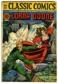 "Golden Age (1938-1955):Classics Illustrated, Classic Comics #32 Lorna Doone - Davis Crippen (""D"" Copy) pedigree (Gilberton, 1946) Condition: VG...."