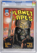 Magazines:Science-Fiction, Planet of the Apes (Magazine) #17 (Marvel, 1976) CGC NM/MT 9.8Off-white to white pages. ...