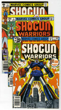 Bronze Age (1970-1979):Cartoon Character, Shogun Warriors Group (Marvel, 1978-80) Condition: Average NM....(Total: 19)