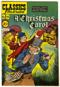 "Golden Age (1938-1955):Classics Illustrated, Classics Illustrated #53 A Christmas Carol - Davis Crippen (""D""Copy) pedigree (Gilberton, 1948) Condition: FN...."