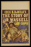 "Movie Posters:War, The Story of Dr. Wassell (Paramount, 1944). Window Card (14"" X22""). War Drama. Starring Gary Cooper, Laraine Day, Signe Has..."