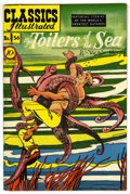 "Golden Age (1938-1955):Classics Illustrated, Classics Illustrated #56 Toilers of the Sea - Davis Crippen (""D""Copy) pedigree (Gilberton, 1949) Condition: VF...."
