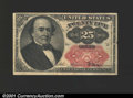 Fractional Currency:Fifth Issue, Fifth Issue 25c, Fr-1309, XF. There is a small tear in the righ...