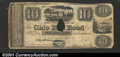 Obsoletes By State:Ohio, 1836 $10 Ohio Railroad Co., Ohio City, OH. Fine overall, but wi...