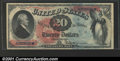 Large Size:Legal Tender Notes, 1869 $20 Legal Tender Note, Fr-127, CGA Gem Uncirculated 65. Th...