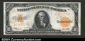 Large Size:Gold Certificates, 1922 $10 Gold Certificate, Fr-1173, CU. Fully New and original,...