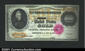 Large Size:Gold Certificates, 1900 $10,000 Gold Certificate, Fr-1225, Gem CU. A splendid note...