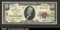 National Bank Notes:Missouri, Saint Louis, MO - $10 1929 Ty. 1 First National Bank in S...