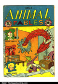 Golden Age (1938-1955):Funny Animal, Animal Fables #4 (EC, 1947). Condition: VG. Minor splits alongspine....