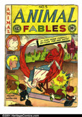Golden Age (1938-1955):Funny Animal, Animal Fables #5 (EC, 1947). Condition: VG....