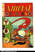 Golden Age (1938-1955):Funny Animal, Animal Fables #6 (EC, 1947). Condition: FN-. Inside covers tanningslightly....