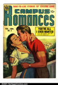 Golden Age (1938-1955):Romance, Campus Romances #3 (Avon, 1950). Condition: FN+....
