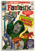 Silver Age (1956-1969):Superhero, Fantastic Four Annual #2 (Marvel, 1964). Condition: GD. Cover detached....