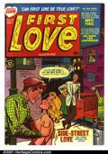 Golden Age (1938-1955):Romance, First Love #15 (Harvey, 1951). Condition: FN+....