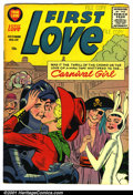 Silver Age (1956-1969):Romance, First Love #69 (Harvey, 1956). Condition: FN+. Date stamp and namewritten in pen on page 1....