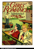 Golden Age (1938-1955):Romance, Girls' Romances #10 (National, 1951). Condition: FN. Slightlymis-cut....