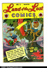 Land of the Lost #3 (EC, 1946). Condition: FN-