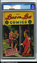 Golden Age (1938-1955):Funny Animal, Land of the Lost #7 (EC, 1947). Condition: VG/FN 5.0, off-whitepages. Overstreet 2001 GD 2.0 value = $19; FN 6.0 value = $5...