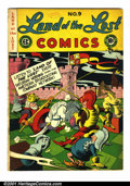 "Golden Age (1938-1955):Funny Animal, Land of the Lost #9 (EC, 1948). Condition: VG. Small 1/4"" split atbottom of spine...."