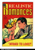 Golden Age (1938-1955):Romance, Realistic Romances #15 (Avon, 1954). Condition: FN....