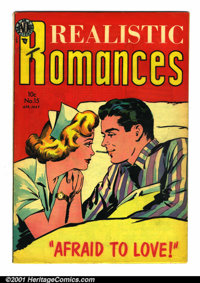 Realistic Romances #15 (Avon, 1954). Condition: FN