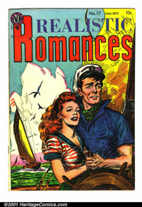 Realistic Romances #17 (Avon, 1954). Condition: FN/VF