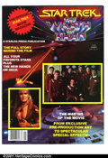 Modern Age (1980-Present):Science Fiction, Star Trek II: The Wrath of Khan Official Movie Magazine (StarlogPress, 1982). Condition: NM+....