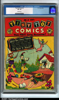 Golden Age (1938-1955):Funny Animal, Tiny Tot Comics #4 (EC, 1946). Condition: CGC VG- 3.5, off-whitepages. Overstreet 2001 GD 2.0 value = $19; FN 6.0 value = $...