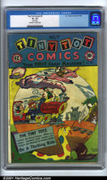 Golden Age (1938-1955):Funny Animal, Tiny Tot Comics #7 (EC, 1947). Condition: GD+ 2.5, off-white towhite pages. Rusted staple. Overstreet 2001 GD 2.0 value = $...