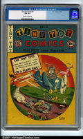 Golden Age (1938-1955):Funny Animal, Tiny Tot Comics #9 (EC, 1947). Condition: CGC FN+ 6.5, off-white towhite pages. Overstreet 2001 FN 6.0 value = $56....