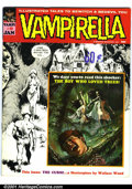 Bronze Age (1970-1979):Horror, Vampirella #9 (Warren, 1970). Condition: VF. Wally Wood story....