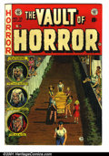 Golden Age (1938-1955):Horror, Vault of Horror #33 (EC, 1953). Condition: FN....