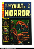 Golden Age (1938-1955):Horror, Vault of Horror #34 (EC, 1954). Condition: FN-....