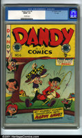 Golden Age (1938-1955):Funny Animal, Dandy Comics #6 (EC, 1948). Condition: CGC FN/VF 7.0, off-whitepages. Overstreet 2001 FN 6.0 value = $56; NM 9.4 value = $1...