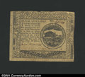 Colonial Notes:Continental Congress Issues, May 10, 1775, $4, Continental Congress Issue, CC-4, XF. A nice ...